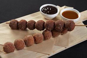 Donut holes available at Waypoint Kitchen