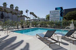 Heated, outdoor pool