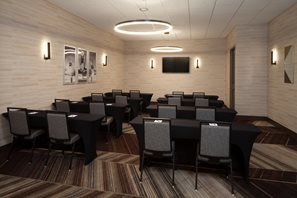 Compass Meeting Room can accommodate small meetings up to 50 people